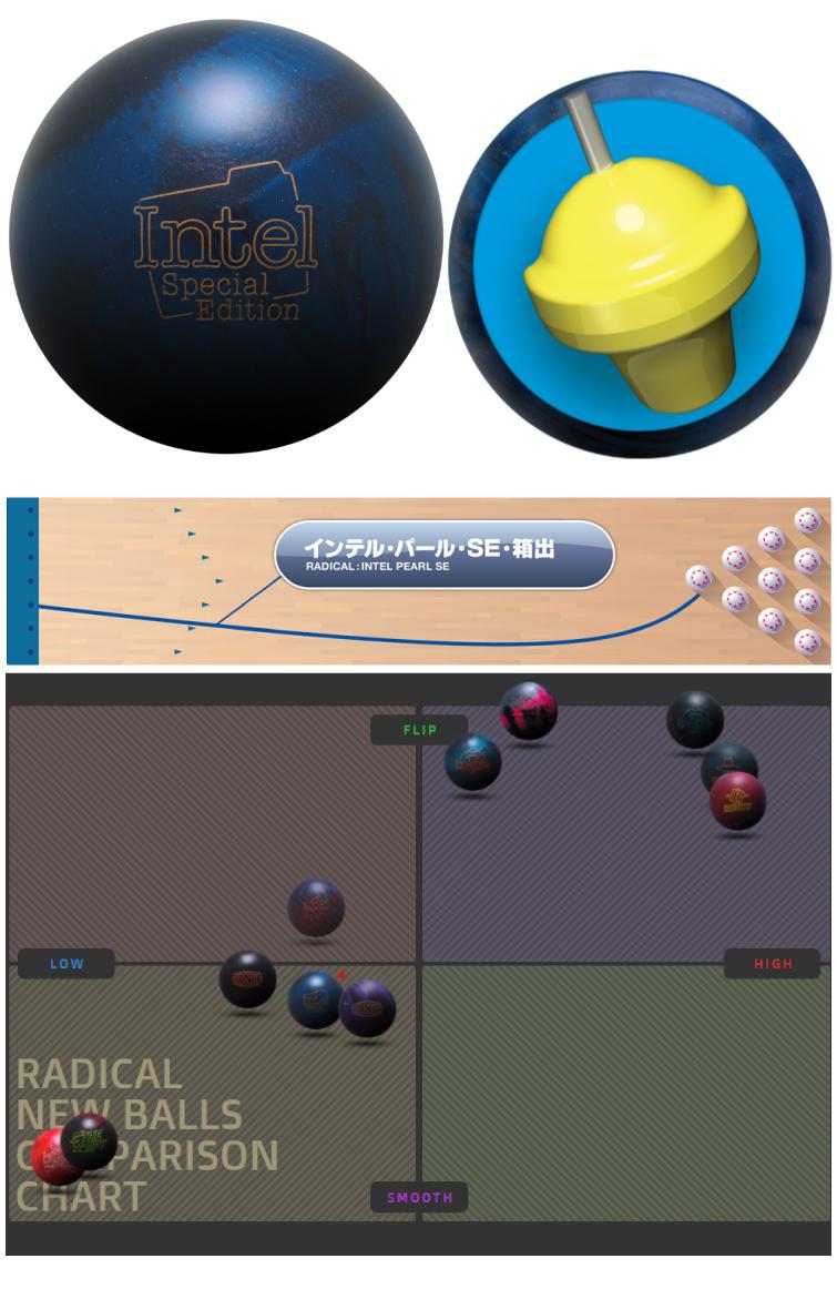 ボウリング用品  ボウリングボール インテル・パール・SE™