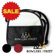 【ボウリングバッグ】ボウラーズストリート レザー調ボール1個用バッグ