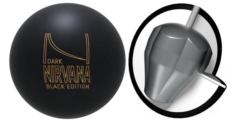 ボウリング用品 ボウリングボール ブランズウィック brunswick ダークニルバーナ ブラックエディション Dark Nirvana Black