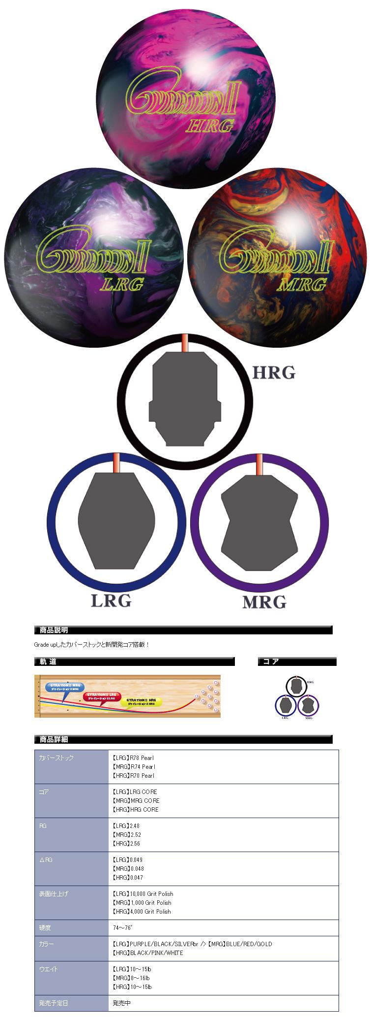 ボウリング用品 ボウリングボール ABS ジャイレーション2 GYRATION 2