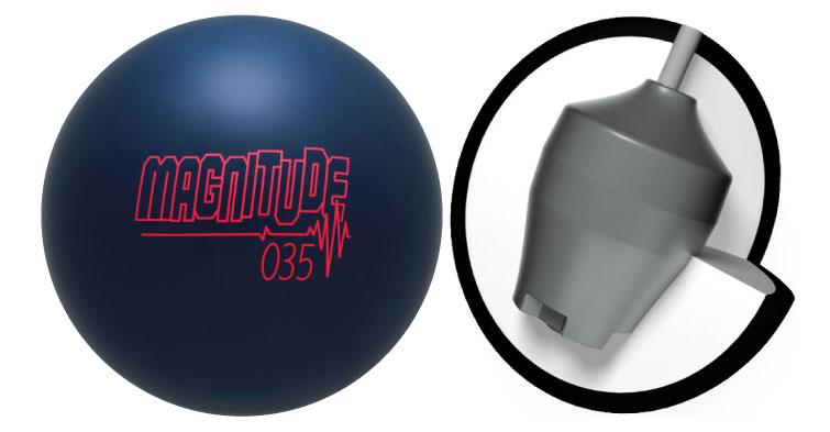 ボウリング用品 ボウリングボール ブランズウィック brunswick マグニチュード035 Magnitude 035