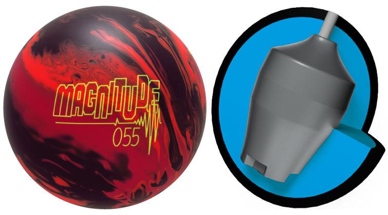 ボウリング用品 ボウリングボール ブランズウィック brunswick マグニチュード055 Magnitude055