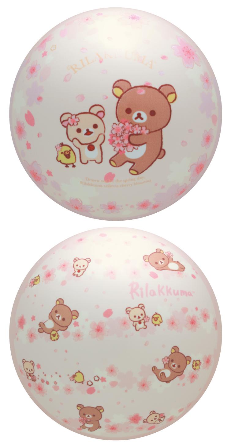 ボウリング用品 ボウリングボール ブランズウィック brunswick リラックマ ポリエステルボール サクラ Sakura