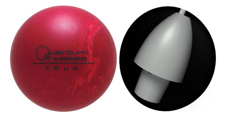 ボウリング用品 ボウリングボール ブランズウィック brunswick ツアーカンタムECS Tour Quantum ECS