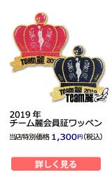 2019年チーム麗ワッペン