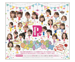BBM 2018 P★リーグ(P★LEAGUE) カード&ミニ色紙セット PARTY BOX